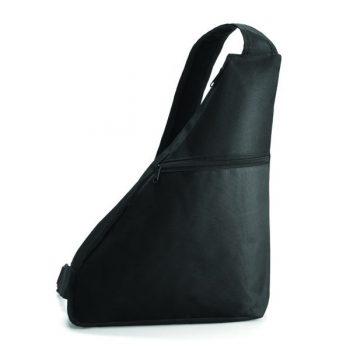 Triangular-Shoulder-Bag-Black-PromoWorld